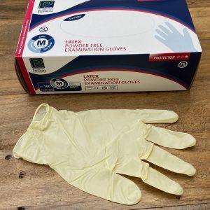 Plasma Elite non-powdered Latex Gloves graphic